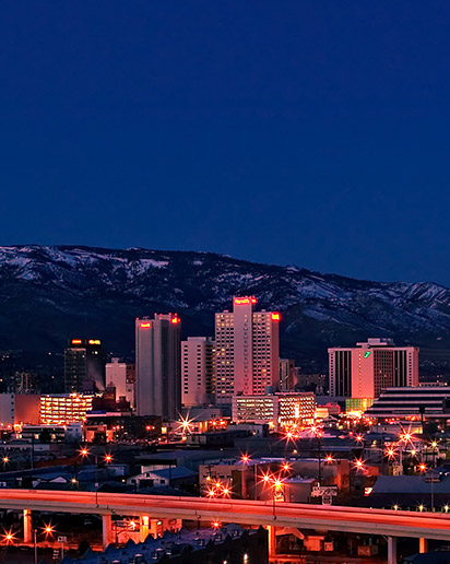 Reno, in Washoe County, Nevada